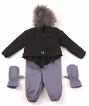 Snowstorm Survival Set (Black and Gray)