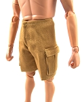 Shorts: Cargo Pockets (Tan Twill)