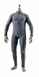 Bodysuit for Male Figures<br>Gray-Brown