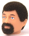 Head - Jake Brown Fuzzy with Goatee<br>