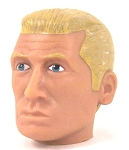 Head - Nick Blond Painted