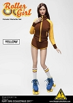 Roller Girl Outfit & Head Sculpt Set (Yellow)<BR>PRE-ORDER: ETA Q4 2018