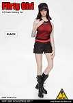 Combat Shorts Fashion Clothing Set (Black)<BR>PRE-ORDER: ETA Q2 2018
