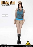 Combat Shorts Fashion Clothing Set (Tan)<BR>PRE-ORDER: ETA Q2 2018