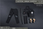 Tactical Female Shooter Outfit Set (Black)<BR>PRE-ORDER: ETA Q1 2018