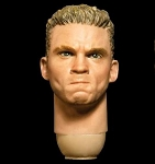 Male Head Sculpt (Tough Guy Expresssion)