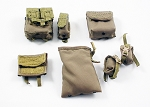Coyote Brown Pouch Set