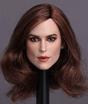 Keira Head Sculpt (Long Brunette Hair)