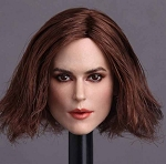 Keira Head Sculpt (Mid-Length Brunette Hair)
