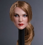 Gabrielle Female Head Sculpt (Golden Brown)<BR>PRE-ORDER: ETA Q4 2018