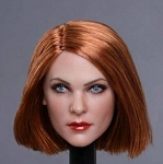 Gabrielle Female Head Sculpt (Copper)<BR>PRE-ORDER: ETA Q4 2018