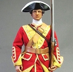 The 1745 Rebellion: British Redcoat, Pulteney's Regiment