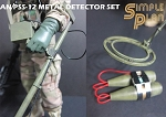 AN/PSS-12 Metal Detector Set<BR>