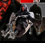 Star Wars: Darth Maul with Sith Speeder<BR>PRE-ORDER: ETA Q4 2019
