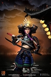 RIN: Female Samurai Figure Set (Black Armor)<BR>PRE-ORDER: ETA Q3 2018
