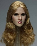 Candace Female Head Sculpt (Long Wavy Blonde Hair)
