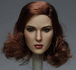 Denise Female Head Sculpt (Mid-Length Red Hair)