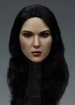 Fairuza Female Head Sculpt (Long Black Hair)<BR>PRE-ORDER: ETA Q1 2018