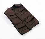Safari Vest (Brown)