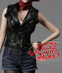 Motorcycle Vest Outfit - Female