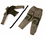 Crye Style Tactical Uniform Set<BR>(OD Green, Female Cut)