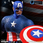 One:12 Collective<br>Capt. America (SDCC Excl)<br>(1:12 Scale)