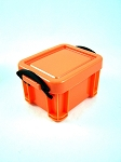 Storage Crate  (Bright Orange)