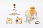Shiba Inu Dog (Gold) with Two Head Sculpts<BR>PRE-ORDER: ETA Q4 2018
