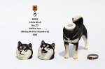 Shiba Inu Dog (Black) with Two Head Sculpts<BR>PRE-ORDER: ETA Q4 2018