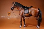 German Hanoverian Horse Set (Brown)