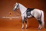 German Hanoverian Horse Set (White/Gray)