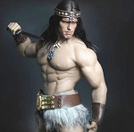 Barbarian Outfit & Head Sculpt Set (Ver. A)