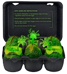 Alien Glow in the Dark Eggs Set<BR>(1:10 Scale)<BR>