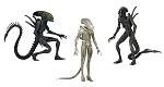 ALIENS<BR> Series 7 Assortment<BR>1:10 Scale<BR>