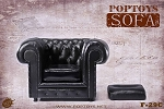 British Single Sofa - Black