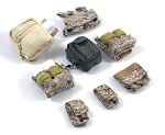 US Navy SEAL Team 6 Pouch Assortment