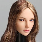 Haley Female Head Sculpt with Movable Eyes<BR>PRE-ORDER: ETA Q4 2018