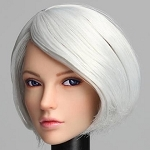 Joy Female Head Sculpt with Movable Eyes<BR>PRE-ORDER: ETA Q4 2018