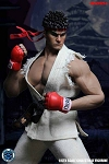 Street Fighter Outfit and Head Sculpt Set (White)<BR>PRE-ORDER: ETA Q4 2018