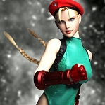 Cammy Outfit & Head Sculpt Set (Green)<BR>PRE-ORDER: ETA Q1 2019