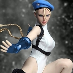 Cammy Outfit & Head Sculpt Set (White) <BR>PRE-ORDER: ETA Q1 2019