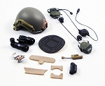 FAST Helmet w/NVG & Accessories<BR>