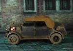 WWII German Steyr 1500 Command Car (Gray)<BR>PRE-ORDER: ETA Q1 2018
