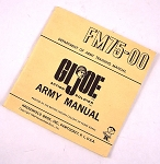 Vintage GI Joe Army Manual (Wide)