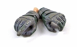 Blackhawk Style Gloved Hands (Gray/Green)