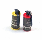 M18 Smoke Grenades (Set of 2)<BR>