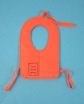Air Vest, Orange<BR>No brass ring