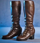 High Heel Boots - Brown <BR>PRE-ORDER: ETA Q1 2019<BR>WAIT LIST