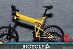 Folding Bike (Yellow)