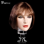 Naomi Female Head Sculpt  - Brunette<BR>PRE-ORDER: ETA Q1 2019